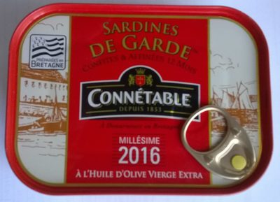 Sardines de Garde Millésimées à l'Huile d'Olive vierge extra - Product