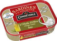 SARDINES PFR CBLE OLIVE BIO 135G - Product - fr