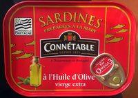 Sardines à l'huile d'olive Connétable - Product - fr