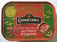 Sardines à l'ancienne au Piment d'Espelette - Product - fr