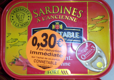 Sardine à l ancien - Product