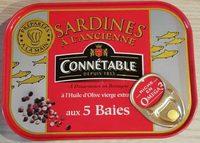Sardines à l'ancienne aux 5 baies - Produit - fr