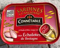 Sardines à l'ancienne à l'huile d'olive vierge extra - Produit - fr