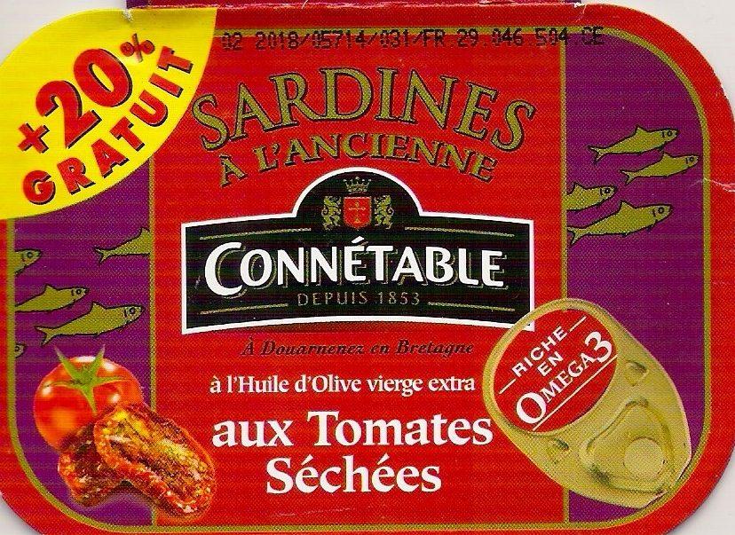 Sardines à l'ancienne aux tomates séchées - Produit