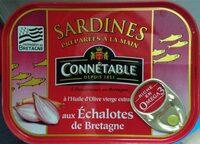 Sardines aux échalotes de bretagne - Produit