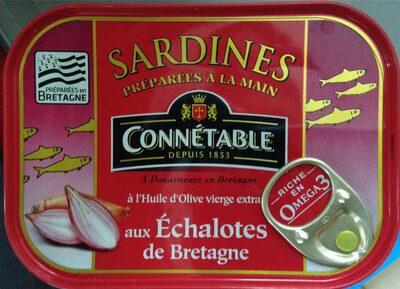 Sardines aux échalotes de bretagne - Produit - fr