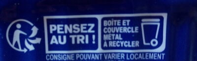 Sardines sans arêtes au naturel - Recycling instructions and/or packaging information - fr
