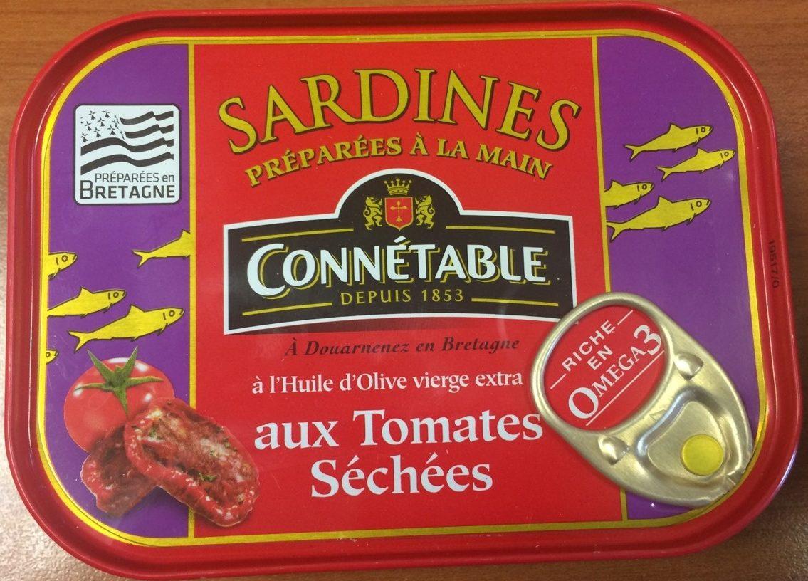Sardines aux tomates séchées - Produit