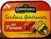 Sardines généreuses au piment -