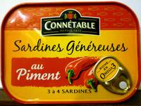 Sardines généreuses au piment - Produit