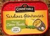 Sardines généreuses marinade Citron-Basilic - Produit