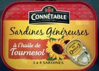 Sardines généreuses à l'huile de tournesol - Product