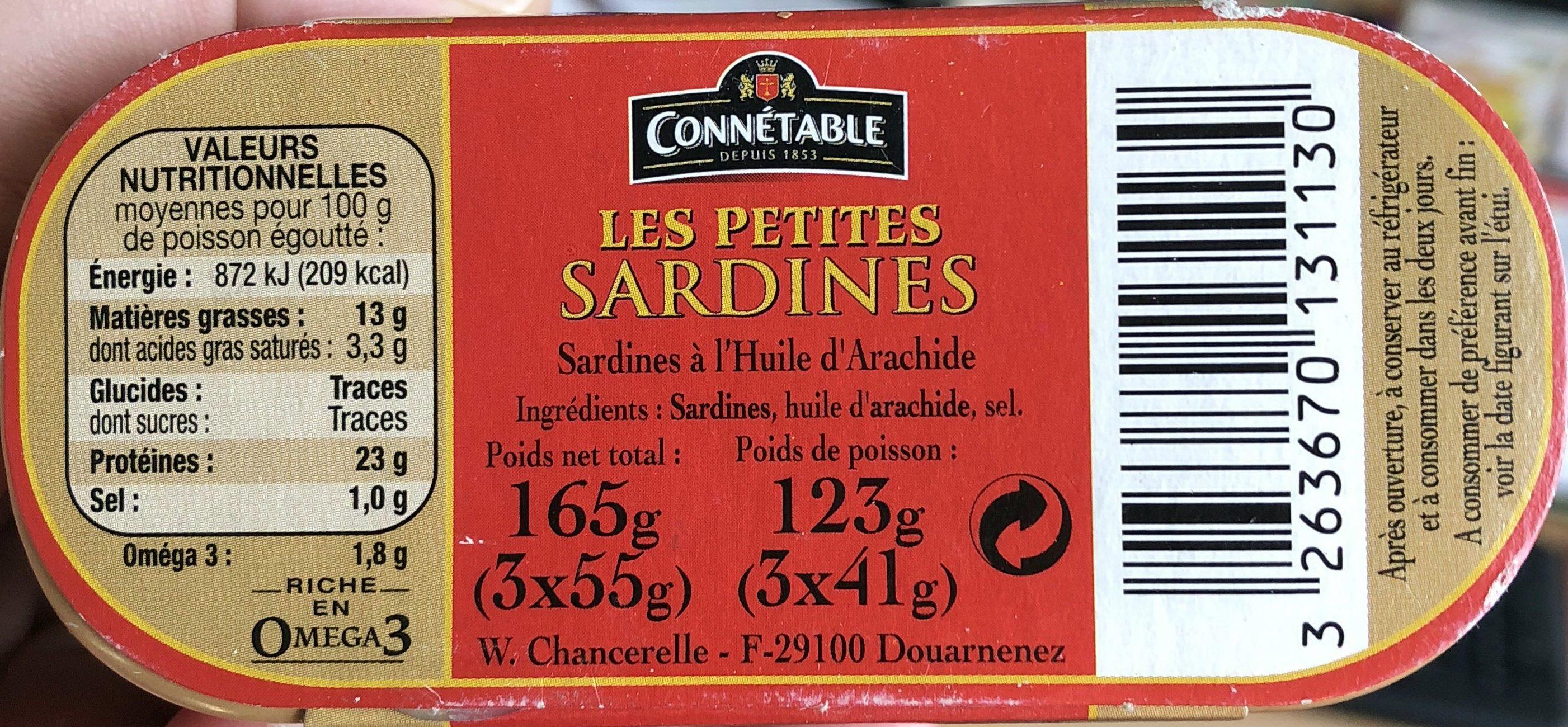 Les petites sardines - Produit - fr