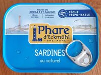 Sardines au naturel - Produit - fr