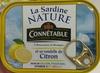 La Sardine Nature et sa rondelle de Citron - Product