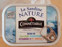 Sardine nature - Prodotto - fr