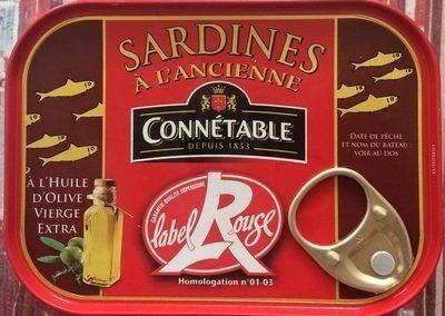 Sardines à l'Ancienne Label rouge - Product - fr