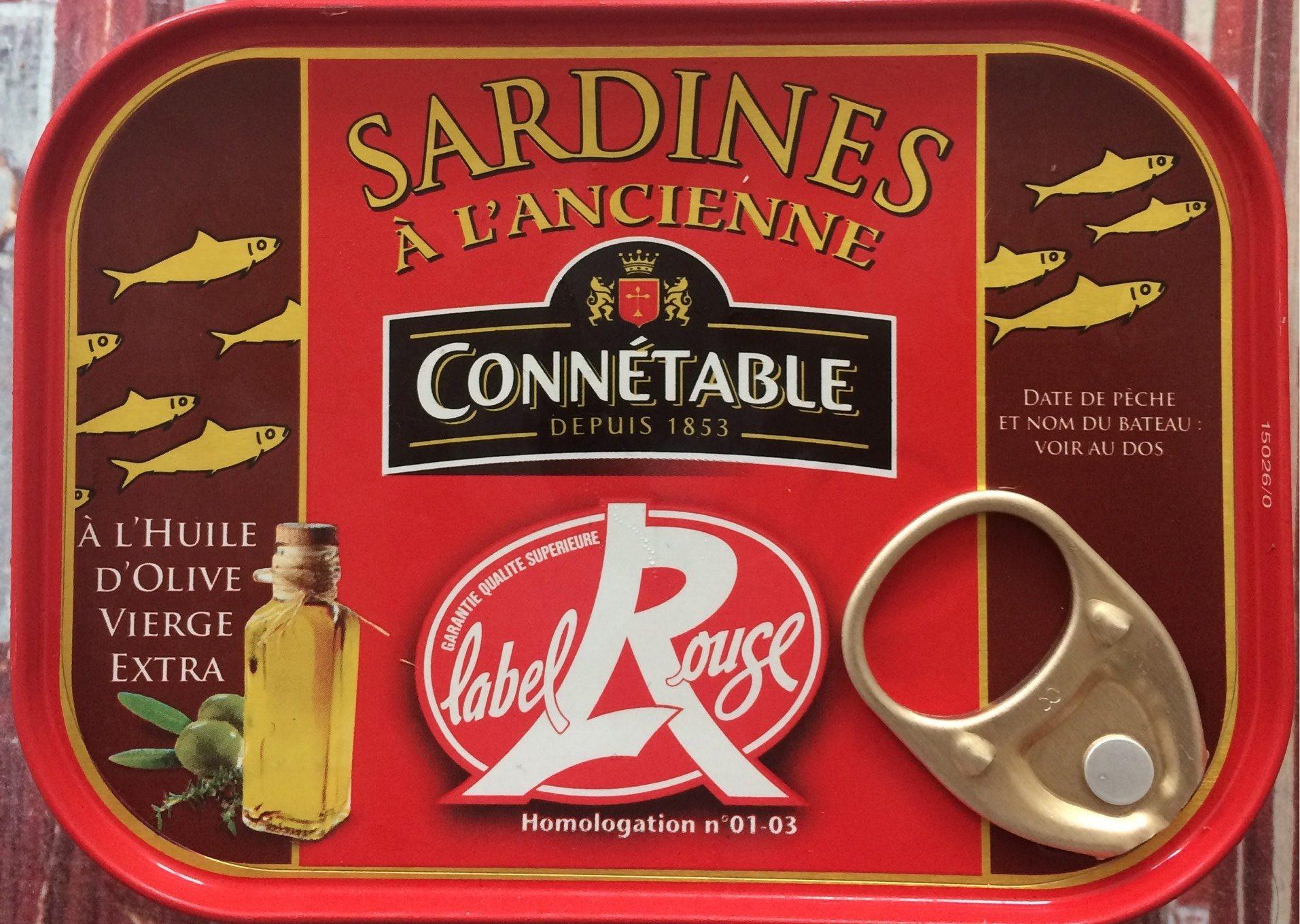 Sardines à l'Ancienne Label rouge - Product