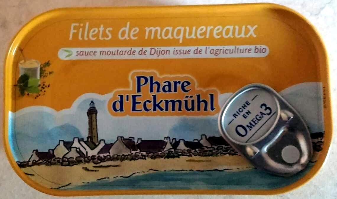 Filets de maquereaux (sauce moutarde de Dijon) Bio - Produit - fr