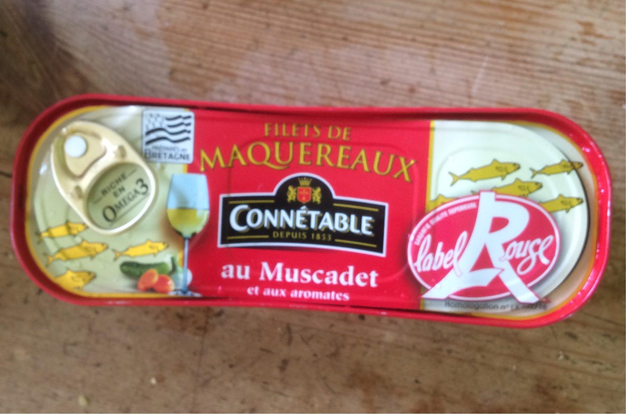 Filet de maquereaux au Muscadet et aux aromates - Product