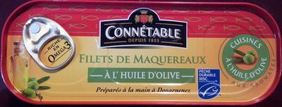 Filets de maquereaux (À l'Huile d'Olive aux Aromates) - Product