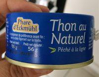 Thon Albacore au naturel pêché à la ligne - Prodotto - fr
