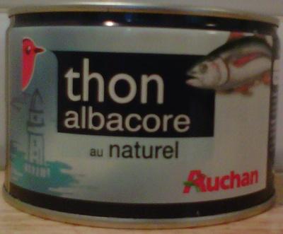 Thon albacore au naturel - Product