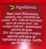 Miettes de thon à la sauce tomate bio - Produit