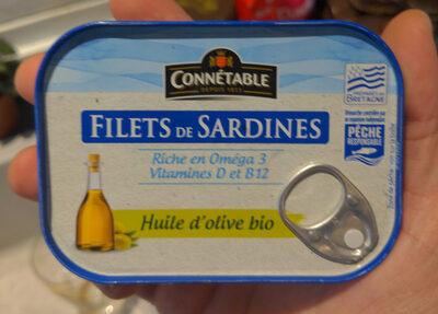 Filets de sardines - Prodotto - fr