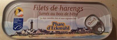 Filets de hareng fumés, aux carottes oignons bio - Produit - fr