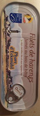 Filets de hareng fumés à l'huile de tournesol aux carottes oignons bio - Produit - fr