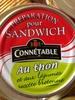 Thon  et légumes pour sandwich - Produit