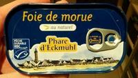 Foie de morue au naturel - Product - fr