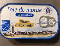 Foie de morue - Prodotto - fr