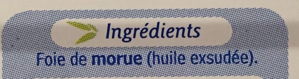 Foie de morue - Ingredienti - fr