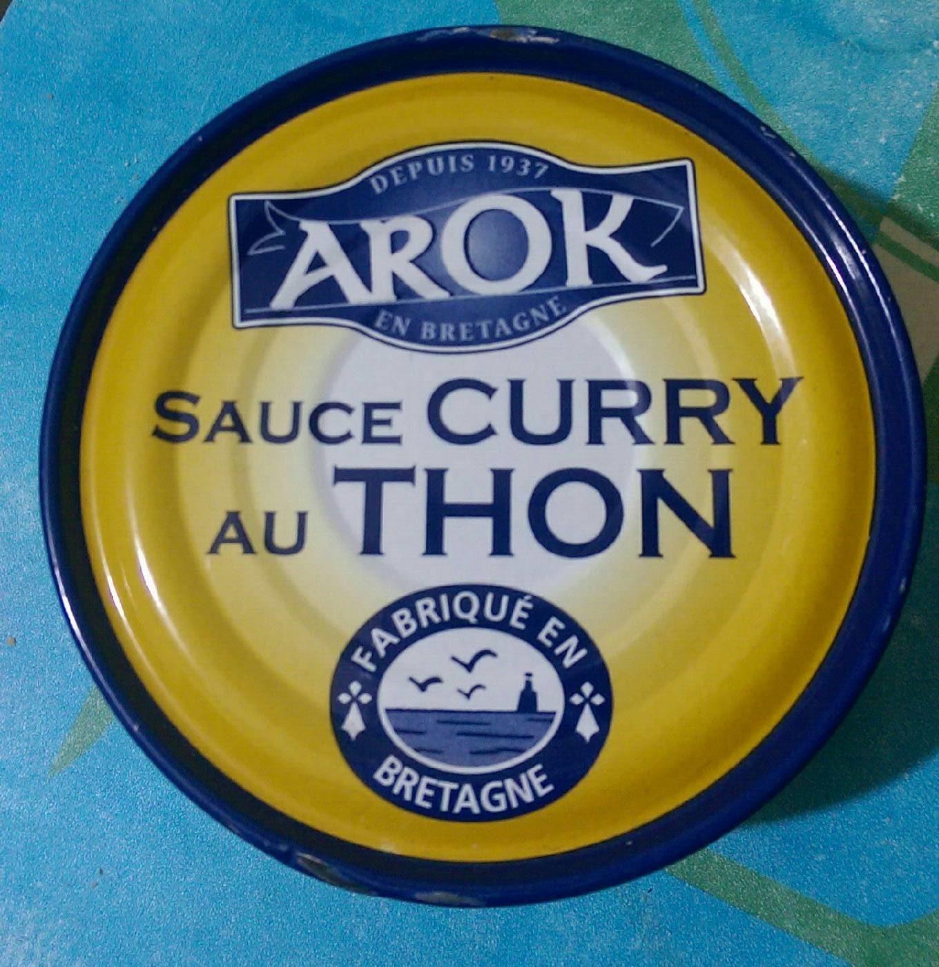 Sauce Curry au Thon - Produit