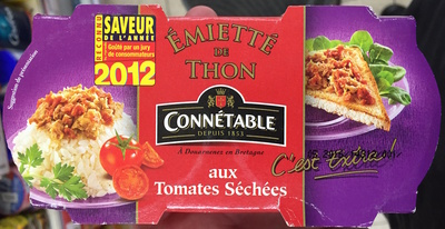 Emietté de Thon aux Tomates Séchées - Product - fr