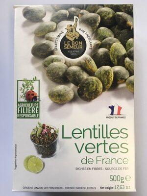 Lentilles Vertes de France Filière - Product - fr