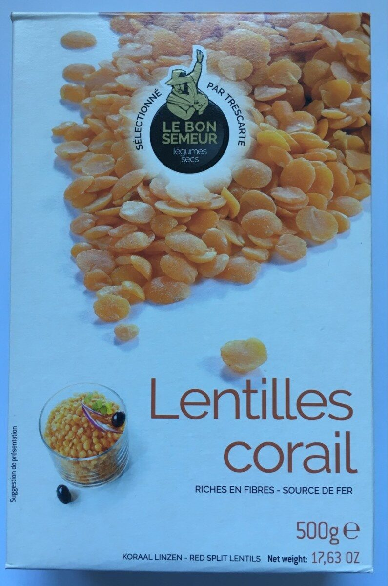 Lentilles Corail - Prodotto - fr
