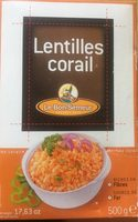 Lentilles Corail - Informazioni nutrizionali - fr