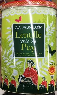 Lentille verte du Puy AOP - Produit - fr