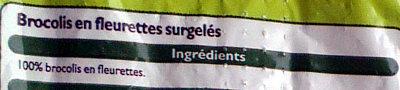 Brocolis en fleurettes - Ingrediënten