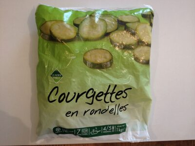 Courgettes en rondelles - Produkt - fr