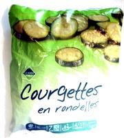 Courgettes en rondelles, Surgelé - Produit