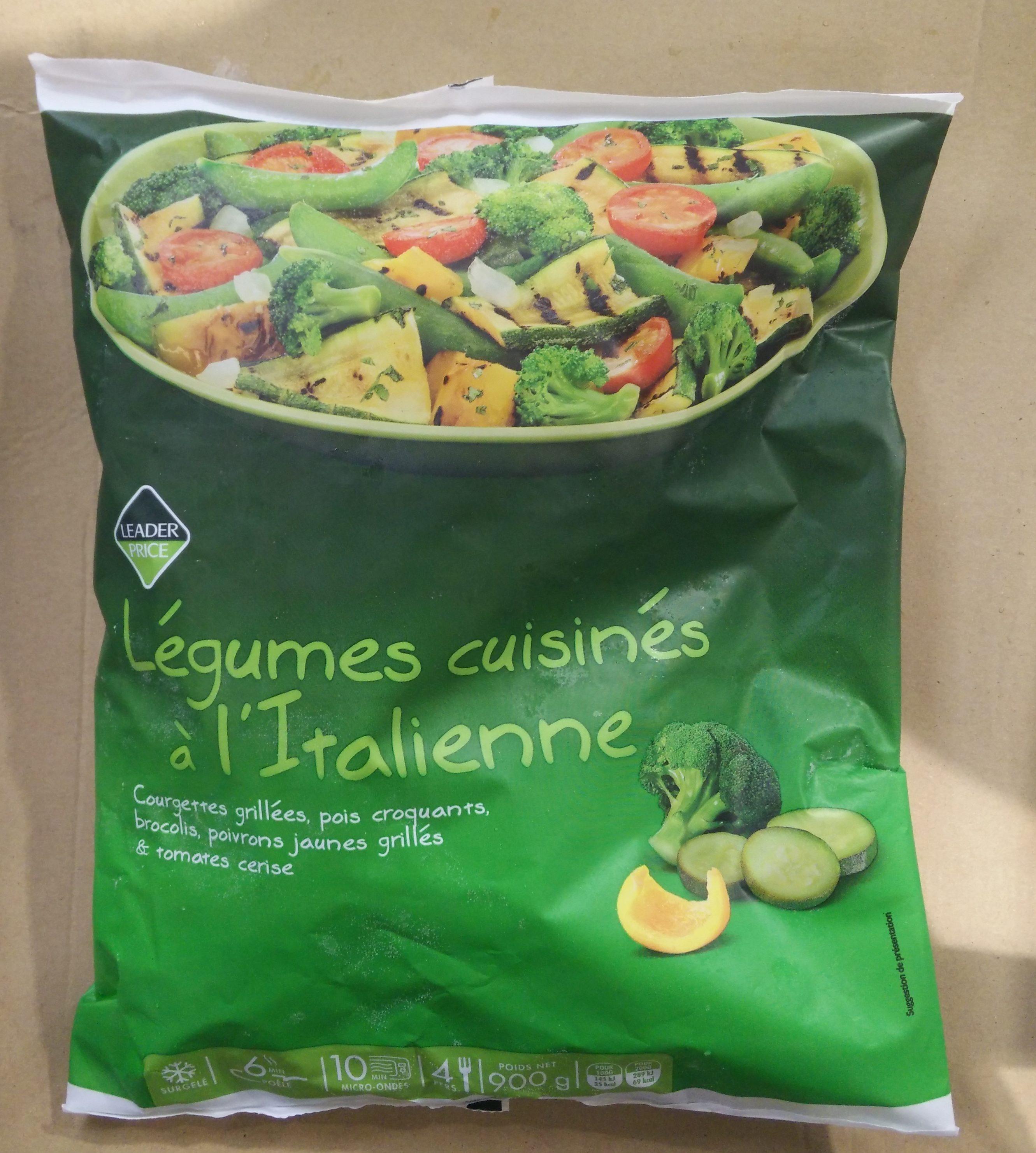 Légumes Cuisinés à l'Italienne - Product