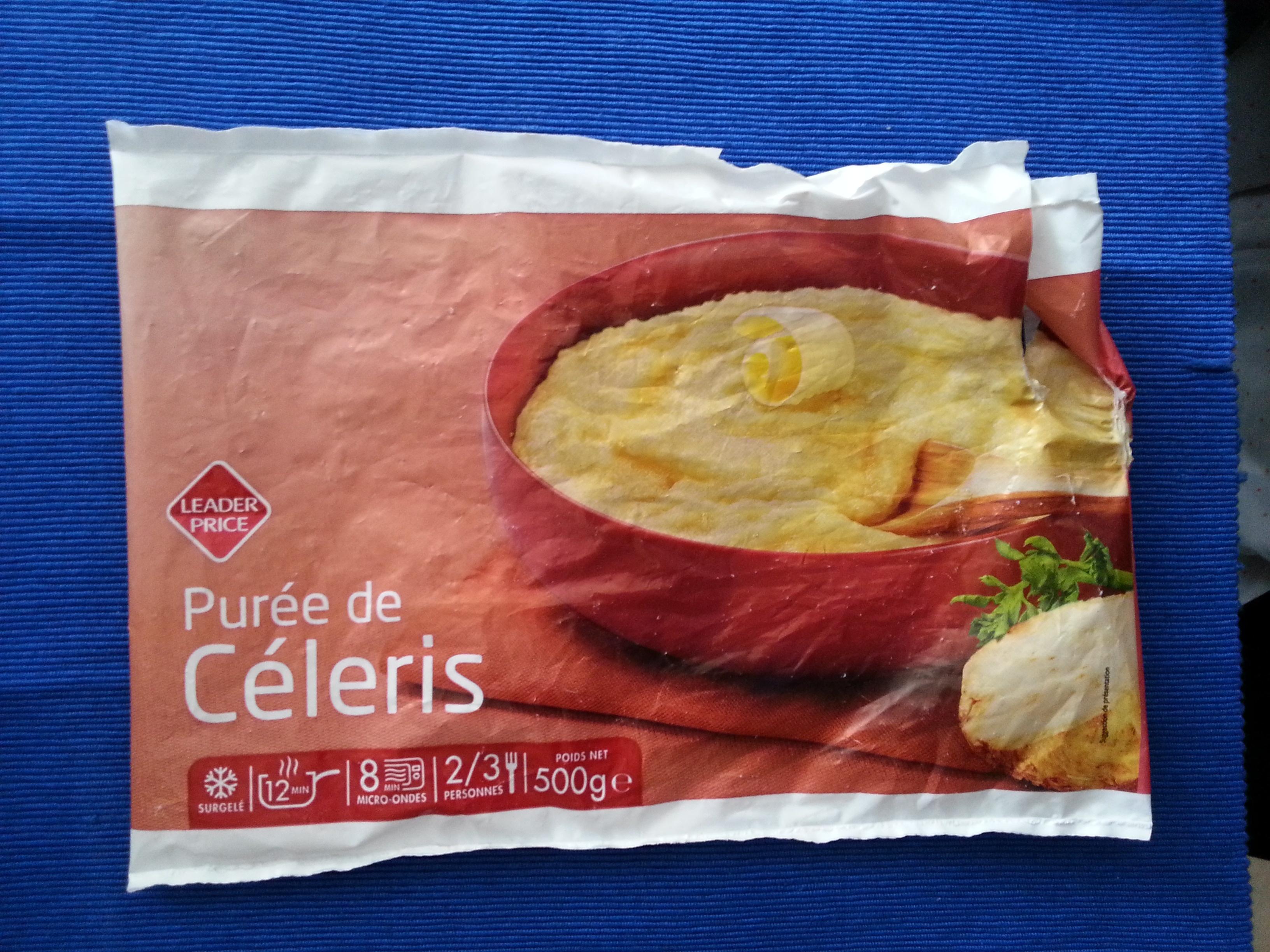 Purée de Céleris - Surgelé - Product - fr