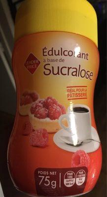 Édulcorant à base de Sucralose - Product