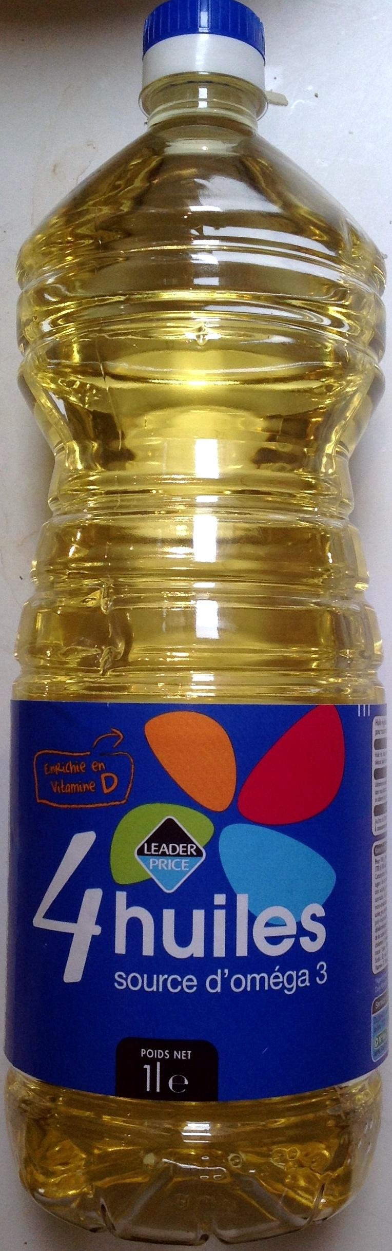 4 huiles, source d'oméga 3 - Prodotto - fr