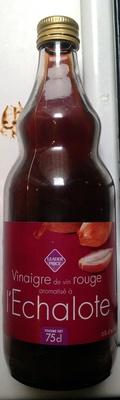 Vinaigre de vin rouge aromatisé à l'échalote - Product - fr