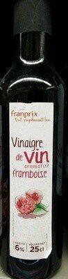 Vinaigre de vin aromatisé framboise 6% - Prodotto - fr